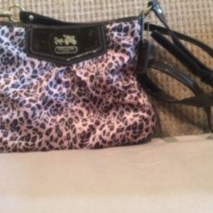 Coach Purse- Cheetah Bag - New Condition!